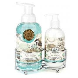 Michel Design Works Ptačí ráj pěnící tekuté mýdlo na ruce 530 ml + mléko na ruce a tělo 236 ml, kosmetická sada
