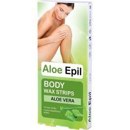 Aloe Epil Body depilační voskové pásky na tělo 16 + 2 kusů