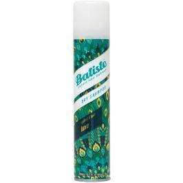 Batiste Luxe suchý šampon na vlasy s okázalou a odvážnou vůní, zanechává vlasy svěží a hedvábně lesklé 200 ml