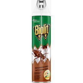 Biolit Lezoucí hmyz odpuzovač hmyzu ve spreji s aplikátorem pro přesnou aplikaci, zahubí šváby a mravence během několika sekund 400 ml