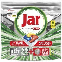 Jar Platinum Plus All in One Lemon kapsle do myčky nádobí 8 kusů