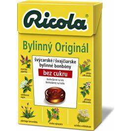 Ricola Original švýcarské bylinné bonbóny bez cukru s vitamínem C z 13 bylin 40 g