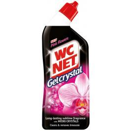 Wc Net Gelcrystal Pink Flower Wc gelový čistič 750 ml