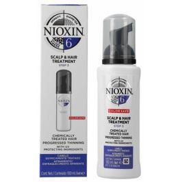 Nioxin System 6 Scalp & Hair Bezoplachová péče pro výrazně řídnoucí přírodní i chemicky ošetřené středně silné až silné vlasy 100 ml