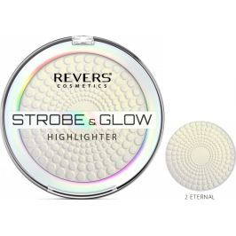 Revers Strobe & Glow Highlighter rozjasňující pudr 02 Eternal 8 g