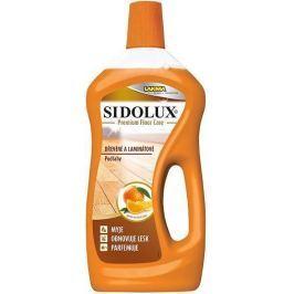 Sidolux Premium Floor Care Pomerančový olej speciální prostředek na mytí dřevěných a laminátových podlah 750 ml