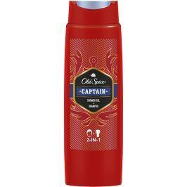 Old Spice Captain 2v1 sprchový gel a šampon pro muže 250 ml
