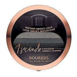 Bourjois One Second 3D oční stíny 01 Black on Track 3 g
