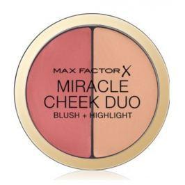 Max Factor Miracle Cheek Duo krémová tvářenka a rozjasňovač 20 Brown Peach & Champagne 11 g