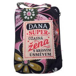 Albi Skládací taška na zip do kabelky se jménem Dana 42 x 41 x 11 cm