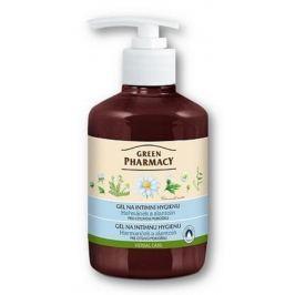 Green Pharmacy Heřmánek a Lantoin gel na intimní hygienu pro citlivou pokožku 370 ml