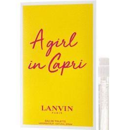 Lanvin A Girl in Capri toaletní voda pro ženy 2 ml s rozprašovačem, Vialka