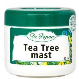 Dr. Popov Tea Tree dezinfekční mast na opary, akne, kožních potížích 50 ml