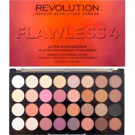 Makeup Revolution Ultra Eyeshadows paletka 32 očních stínů Flawless 4 16 g