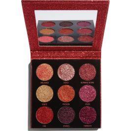Makeup Revolution Pressed Glitter Hot Pursuit paletka třpytek 10,8 g
