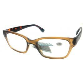 Berkeley Čtecí dioptrické brýle +2,5 plast světle hnědé, tygrované stranice 1 kus ER4198