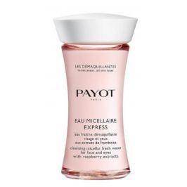 Payot Les Démaquillantes Eau Micellaire Express osvěžující pleťová voda na odlíčení obličeje a očí s výtažky z malin 75 ml Promo