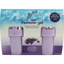 Akolade Air Freshener Lavender solid gel osvěžovač vzduchu 2 x 150 g