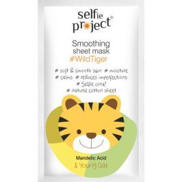 Selfie Project WildTiger hydratační textilní pleťová maska 15 ml