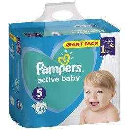 Pampers Giant Pack Active Baby Junior 5 11 - 16 kg jednorázové plenky 64 kusů