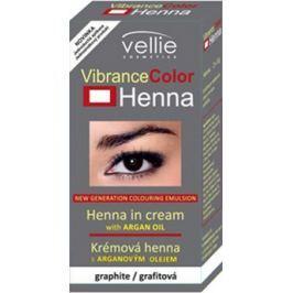 Vellie Vibrance Color Henna barva obočí a řasy s Hennou Grafitová 2 x 3 g