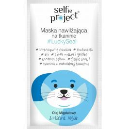 Selfie Project LuckySeal hydratační textilní pleťová maska 15 ml