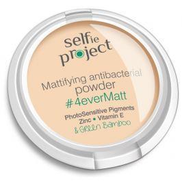 Selfie Project 4ever Matt zmatňující antibakteriální pudr Natural colour 9 g