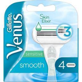 Gillette Venus Smooth Sensitive náhradní hlavice pro ženy 4 kusy