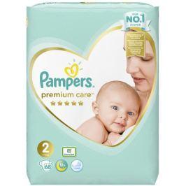 Pampers Premium Care 2 Mini 4-8 kg plenkové kalhotky 68 kusů