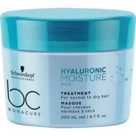 Schwarzkopf BC Bonacure Hyaluronic Moisture Kick Treatment kúra pro normální a suché vlasy 200 ml