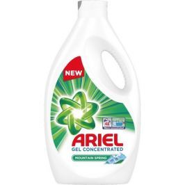 Ariel Mountain Spring tekutý prací gel pro čisté a voňavé prádlo bez skvrn 48 dávek 2,64 l