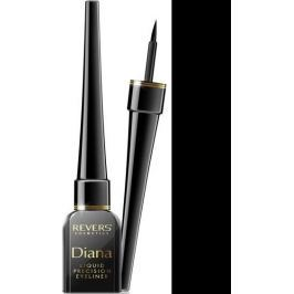 Revers Diana Liquid Precision Eyeliner oční linky Black 4 ml