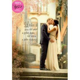 Ditipo Hrací přání k svatbě Láska jsou dvě těla Lásko má - Karel Gott 224 x 157 mm