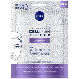 Nivea Hyaluron Cellular Filler 10minutová vyplňující textilní pleťová maska 1 kus
