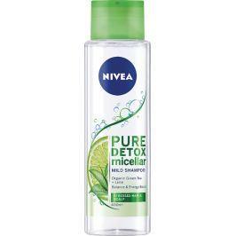 Nivea Pure Detox Micellar detoxikační micelární šampon na vlasy 400 ml