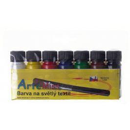 Art e Miss Barva na světlý textil sada 7 x 12 g