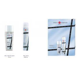 Pret a Porter Original parfémovaný deodorant sklo 75 ml + deodorant sprej 200 ml kosmetická sada pro ženy