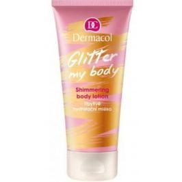 Dermacol Glitter My Body třpytivé hydratační tělové mléko 200 ml