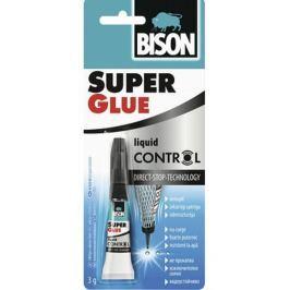 Bison Super Glue Control univerzální sekundové tekuté lepidlo 3 g