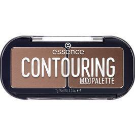 Essence Contouring Duo Palette konturovací paletka duo 20 Darker Skin 7 g