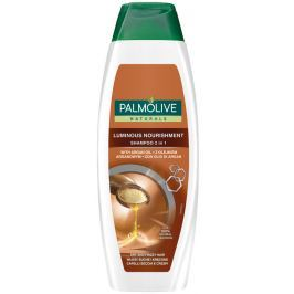 Palmolive Luminous Nourishment Arganový olej 2v1 šampon pro suché a poškozené vlasy 350 ml