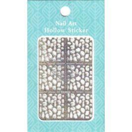 Nail Accessory Hollow Sticker šablonky na nehty multibarevné abstrakce 1 aršík 129