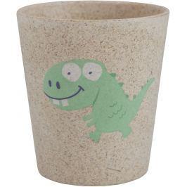 Jack N Jill BIO Dino pohárek z bambusových a rýžových plev 300 ml Ostatní prostředky pro dentální hygienu