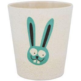 Jack N Jill BIO Zajíc pohárek z bambusových a rýžových plev 300 ml