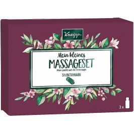 Kneipp Mein kleines Massageset Masážních oleje Ylang-Ylang 20 ml + Staré dobré časy 20 ml + Mandlové květy 20 ml, kosmetická sada