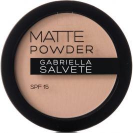 Gabriella Salvete Matte Powder SPF15 pudr 02 Beige 8 g