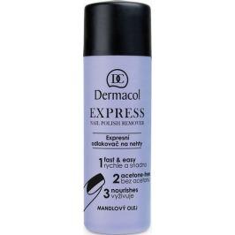 Dermacol Express Nail Polish Remover expresní odlakovač na nehty 120 ml