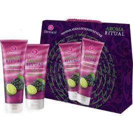 Dermacol Aroma Ritual Hrozny s limetkou sprchový gel 250 ml + tělové mléko 200 ml, kosmetická sada