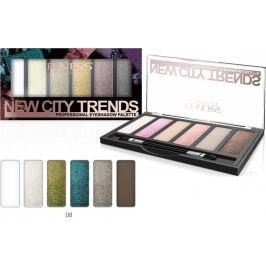 Revers New City Trends paletka očních stínů 08 9 g