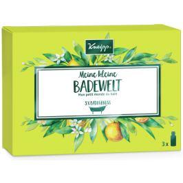Kneipp Badewelt Sada olejů do koupele Mandlové květy pečující koupelový olej 20 ml + Antistres olej do koupele 20 ml + Hluboké uvolnění olej do koupele 20 ml, kosmetická sada